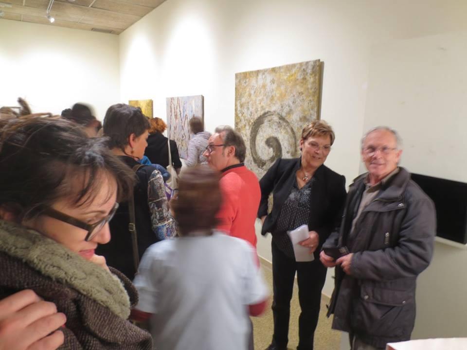 Inauguració de l'exposició d'Anna Güell