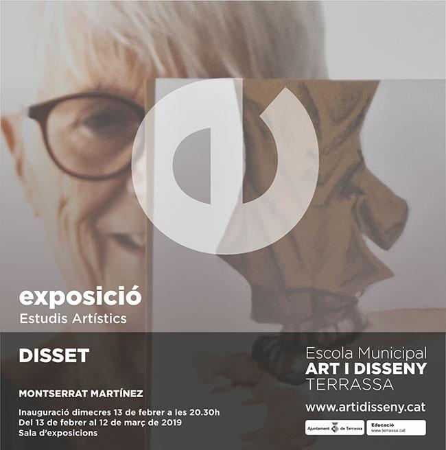 """Exposició: """"Disset"""" de Montserrat Martínez"""